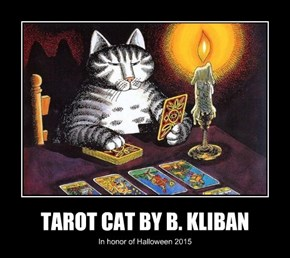 TAROT CAT BY B. KLIBAN