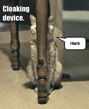 Cloaking device.