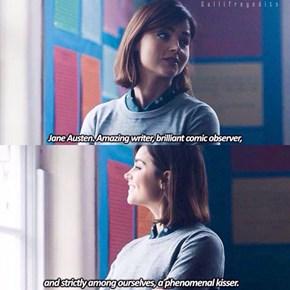 Clara, a Little Bit Bi-Literary