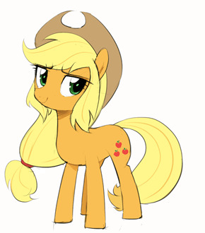 EqG!Hair Applejack