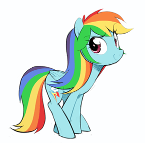 EqG!Hair Rainbow Dash