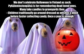 Happy Halloween to those who celebrate it!