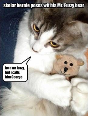 Mr. Fuzzy bears is beri popular item at KKPS