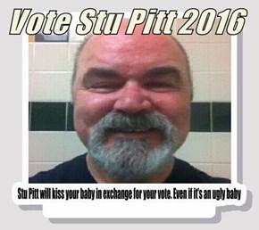 Vote Stu Pitt 2016