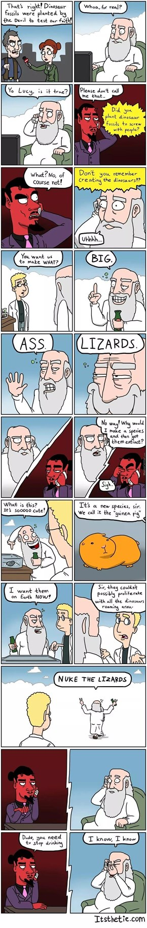 God's Drinking Problem