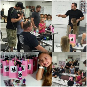 Dad of the Day: This Fantastic Guy Started a Class to Teach Fathers How to Do Their Daughters' Hair