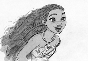Princess of the Day: Disney Reveals the Voice and Look of Moana's Main Character