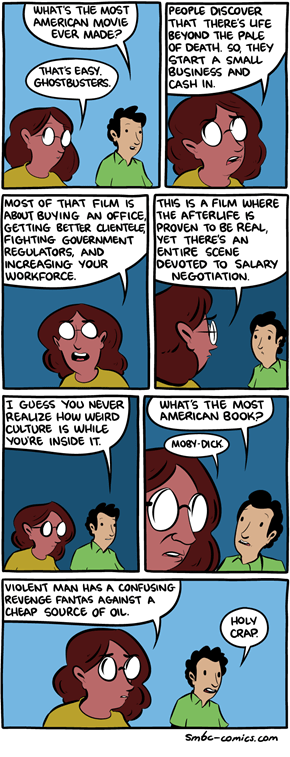 What's The Most American Web Comic?