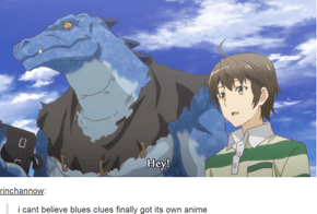 Blue Clues: The Anime
