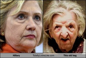 Hillary Totally Looks Like This old hag