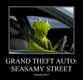GRAND THEFT AUTO: SEASAMY STREET