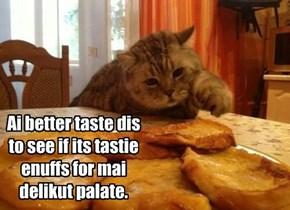 Taste tester!