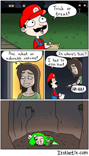 Sorry, Yoshi