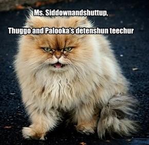Ms. Siddownandshuttup
