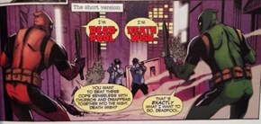 Alternate Dimension Deadpool is Not So Different