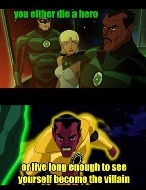 Sinestro Rises