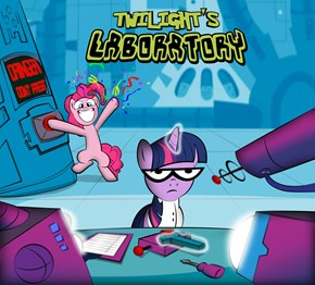 Pinkie, Get out of My Laboratory!