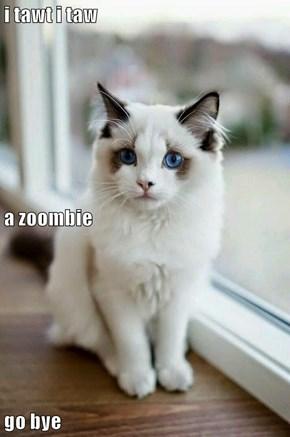 i tawt i taw a zoombie  go bye