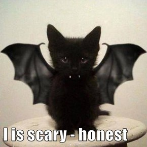 I is scary - honest