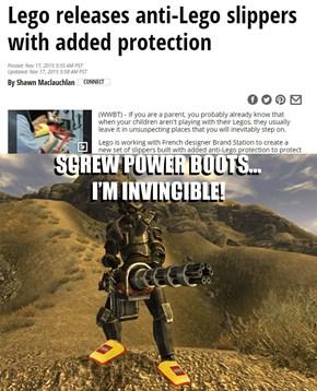 Screw Power Boots, I'm Invincible!
