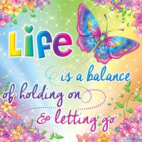 Why is the Lisa Frank Facebook Page Sharing These Weirdly Depressing Inspirational Quotes?