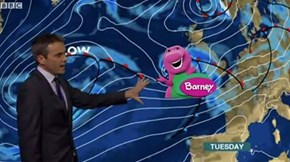 This UK Storm Shares a Name With a Children's Purple-Dinosaur and People Are Taking The Piss Out of It