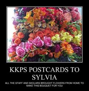 KKPS POSTCARDS TO SYLVIA