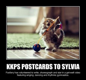 KKPS POSTCARDS TO SYLVIA