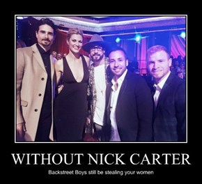 WITHOUT NICK CARTER
