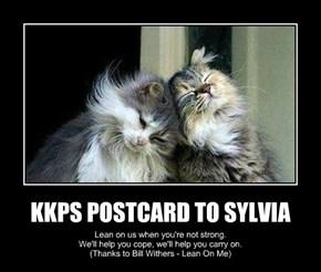 KKPS POSTCARD TO SYLVIA
