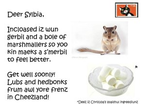 Postcard for Sylbia