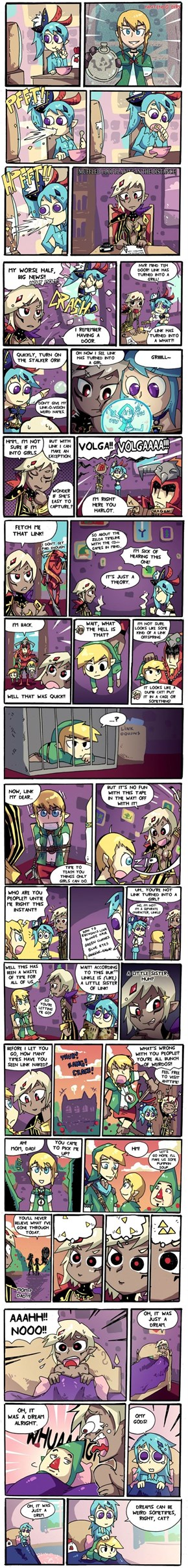 Hurl Warriors: Now with more Linkle!