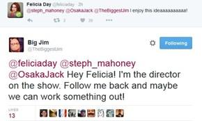 Felicia Day Confirmed for Season 6?