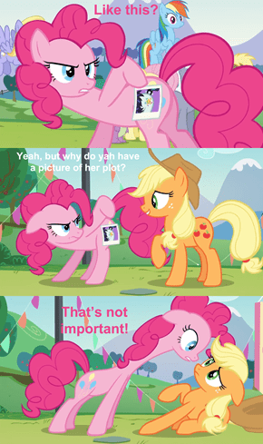 THAT IS NOT THE POINT AJ