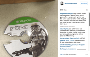 Lead Singer of Breaking Benjamin is Paid by EA to Promote Star Wars Battlefront and Refuses to Do So