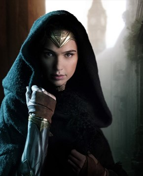 Gal Gadot Posts a First Image of Herself as Wonder Woman in Upcoming Wonder Woman Movie