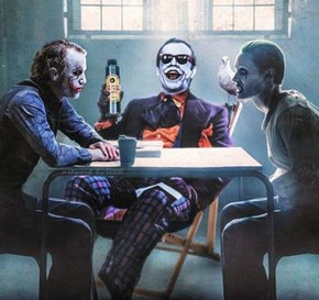 This Must Be Where the Jokers Hang Out