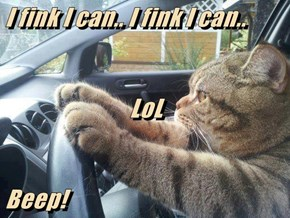 I fink I can.. I fink I can.. LoL Beep!