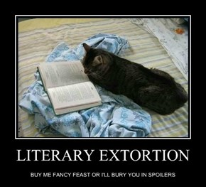 LITERARY EXTORTION