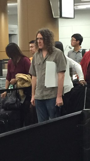 Move Over Sad Keanu, Weird Al is the New Bummed Out Celebrity We Need