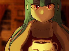 Sonata and Her Steaming Hot... Cocoa