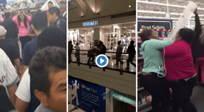 If You Stayed Home on Black Friday, Behold the Insanity You Avoided