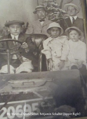 My Maternal Grandfather, Benjamin Schulter (Upper Right)