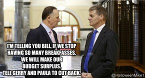 Key and English - Breakfasses Budget