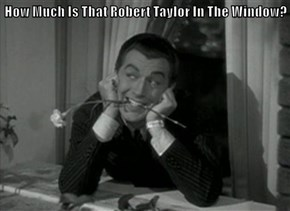How Much Is That Robert Taylor In The Window?