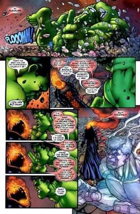 Hulk Rekt By Dormammu