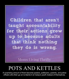 POTS AND KETTLES