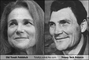 Old Tovah Feldshuh Totally Looks Like Young Jack Palance