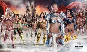These Sexy Disney Warriors are Ready for Battle