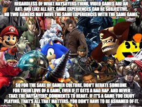 Something We Gamers Need To Remember